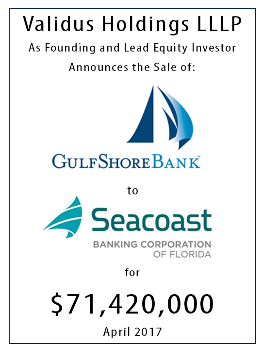 gulfshore bank acquisition