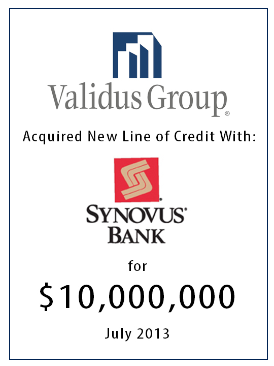 synovus line of credit 10 million